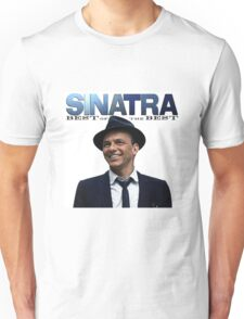 Frank Sinatra The Best of Singing an Acktor Unisex T-Shirt