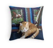 Look In To My  Eye's Throw Pillow