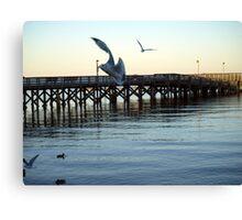 North Beach Pier Canvas Print