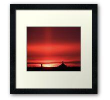new years eve sunrise Framed Print