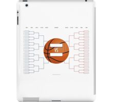 March Madness Basketball Bracket Chart iPad Case/Skin