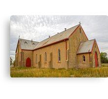 Lovely Old Church, Canvas Print