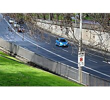 Driving into the tunnel, Melbourne Photographic Print