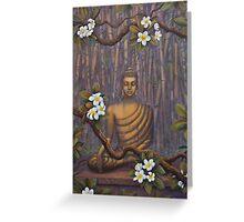 Nature of Buddha Greeting Card
