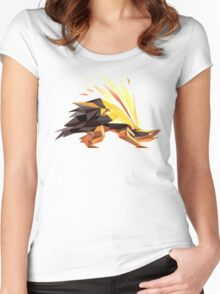 Porymon   Typhlosion Women's Fitted Scoop T-Shirt
