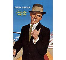 Frank Sinatra Legendaris of Singer Photographic Print
