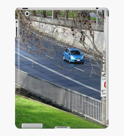 Driving into the tunnel, Melbourne iPad Case/Skin