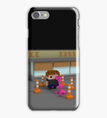 Migraine, A Self Portrait iPhone Case/Skin