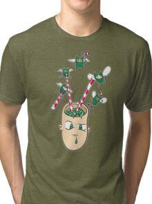 2008_is_the_Vampire_2009_is_the_BURT_RENOLDS_BHUDDA Tri-blend T-Shirt