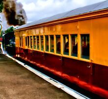 """""""The Dinner Train To Queenscliff"""" by Phil Thomson IPA"""
