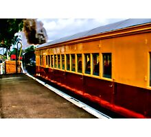 """The Dinner Train To Queenscliff"" Photographic Print"