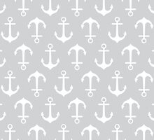 Anchors Away - gray by daisy-beatrice