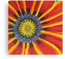 Gazania - Section of Painting  Canvas Print