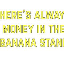 Banana Stand (yellow) by Rivers Turow