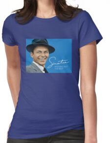 Frank Sinatra Womens Fitted T-Shirt