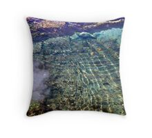 Fluid Trace Throw Pillow