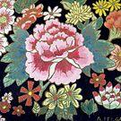 Kimono Flowers by Alexandra Felgate