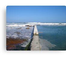 Beach tidal pool Canvas Print