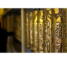Prayer Wheels Photographic Print