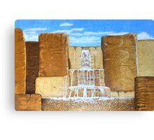 Wholemeal Falls Canvas Print
