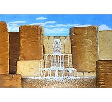 Wholemeal Falls Photographic Print
