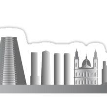 Rio de Janeiro skyline Sticker