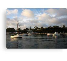 Blairgowrie to Portsea Canvas Print