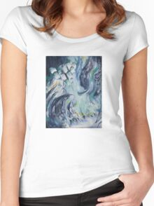 BEAUTIFUL CHAOS Women's Fitted Scoop T-Shirt