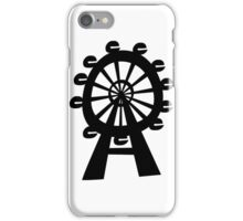 Ferris Wheel - London Eye iPhone Case/Skin
