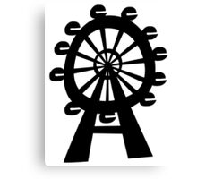 Ferris Wheel - London Eye Canvas Print