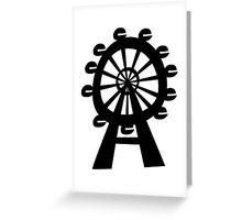 Ferris Wheel - London Eye Greeting Card