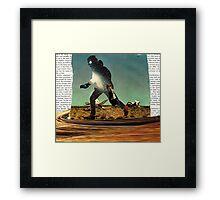 Primitive Mars Runner Framed Print