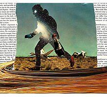 Primitive Mars Runner Photographic Print