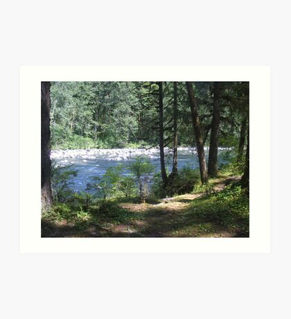 Hemple Creek Picnic Area Art Print