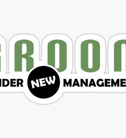 Groom Management Sticker