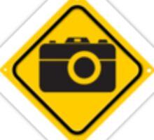 Camera Sign Sticker