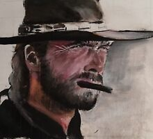 Clint Eastwood  by balestrino