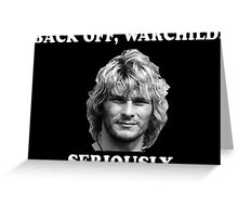 WARCHILD  Greeting Card