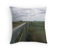 Fence Line Throw Pillow