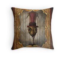 Sir Cricket's Portrait Throw Pillow