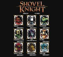 Shovel Knight X MegaMan T-Shirt