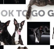 It's Ok To Go Grey Sticker