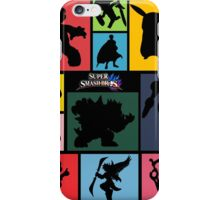 Super Smash Bros. For Wii U And 3DS: Roster iPhone Case/Skin