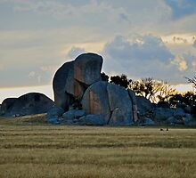 Pyalong Monoliths by Hicksy