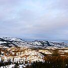 Sierra Sunset by flyfish70