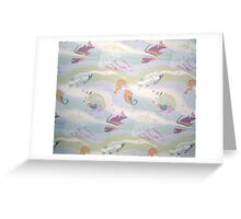 What Lies Beneath Greeting Card