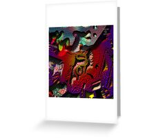 CARTUNE PUZZLE Greeting Card