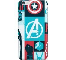 avengers minimalist iPhone Case/Skin