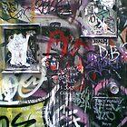 street poets speak on walls by Tatterhood