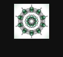 Green Chrome Kaleidoscope Unisex T-Shirt